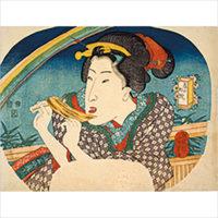 おいしい浮世絵展——北斎 広重 国芳たちが描いた江戸の味わい—— 六本木、森アーツセンターギャラリーにて