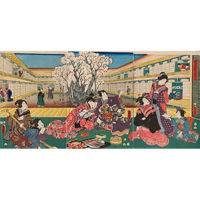 おいしい浮世絵展 <br />北斎 広重 国芳たちが描いた江戸の味わい
