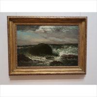 「クールベと海:フランス近代 自然へのまなざし」展——ミレーの美術館、山梨県立美術館にて
